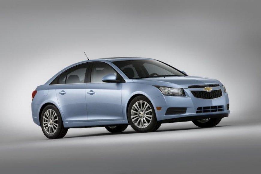 """""""Chevrolet Cruze Eco"""" – ekonomiškas amerikietis"""