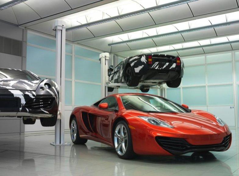 """""""McLaren MP4-12C"""" – į kovą prieš """"Ferrari"""" ir """"Mercedes"""""""