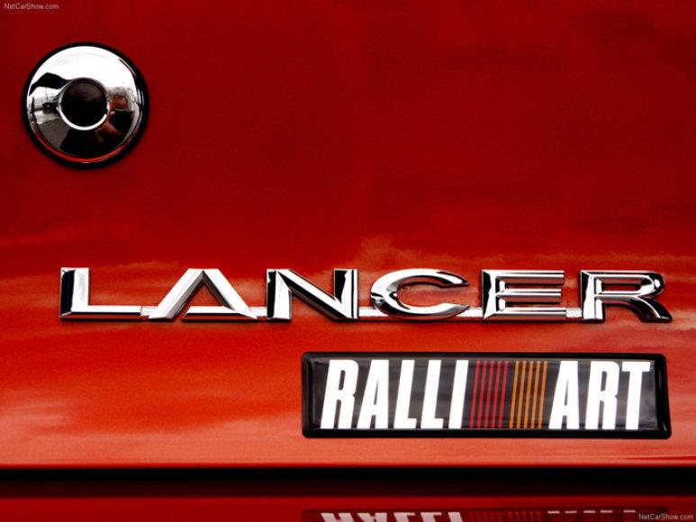 """""""Mitsubishi"""" atsisveikina su """"Ralliart"""""""