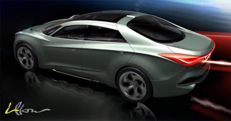 """""""Hyundai i-Flow"""" – būsimasis """"Ford Mondeo"""" varžovas"""