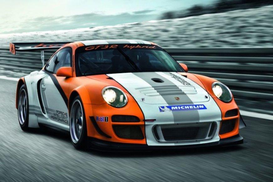 """Porsche 911 GT3 R Hybrid"" – hibridinis lenktynininkas"