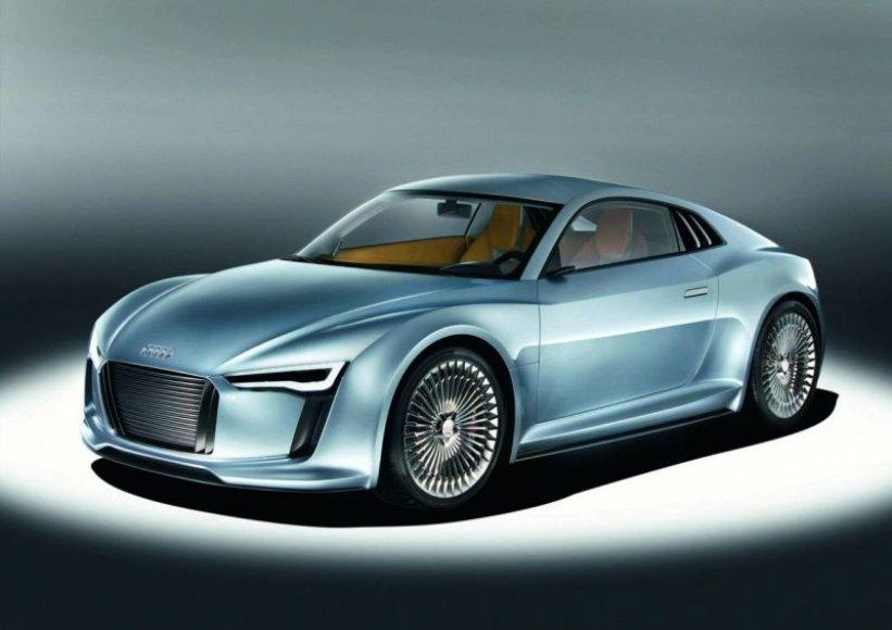 """Audi e-tron"" koncepcija – antrasis bandymas"