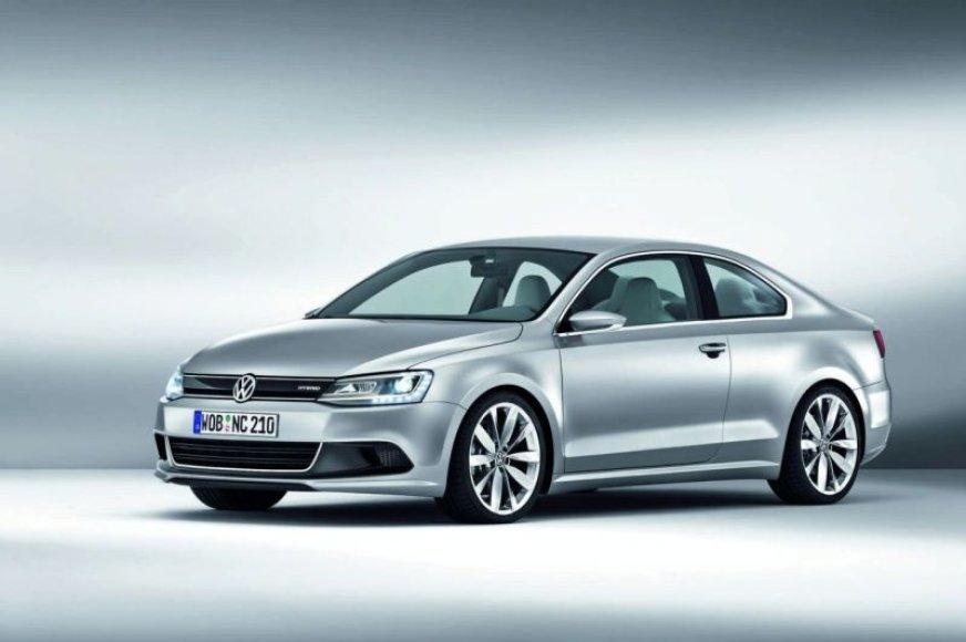 """Volkswagen New Compact Coupe"" – kitokia koncepcija"