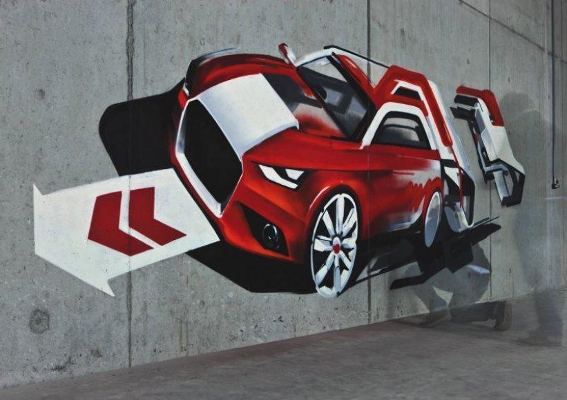 """""""Audi A1"""" rengiamas premjerai"""