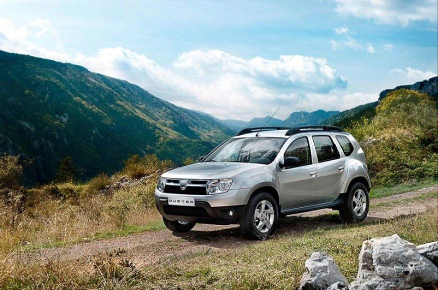 """""""Dacia Duster"""" – visureigis liaudžiai"""