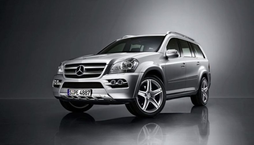"Atnaujintas ""Mercedes-Benz GL"" – dailesnis mamutas"