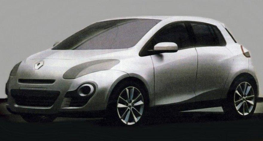 """Nauja """"Renault Clio"""" karta – pirmieji vaizdai?"""