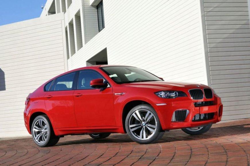 BMW X6 M – ilgai laukto galiūno pasirodymas
