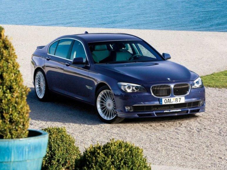 """Ženeva 2009: """"BMW Alpina B7 Bi-Turbo"""" priblokš galia"""