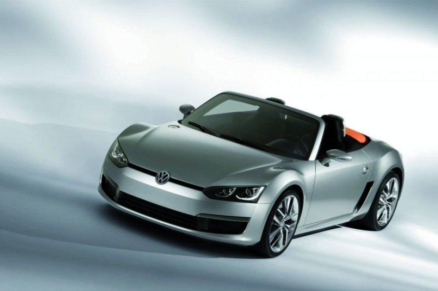 """Volkswagen Concept Blue Sports"" sudomins kabrioletų mėgėjus"