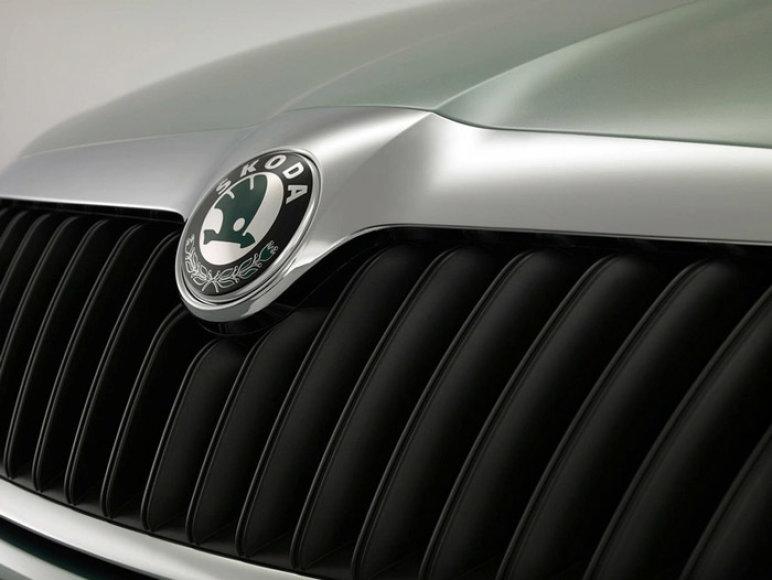 """Atnaujinta """"Škoda Octavia"""" – kita šypsena"""