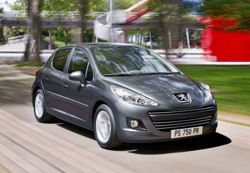 """Atnaujintas """"Peugeot 207"""""""