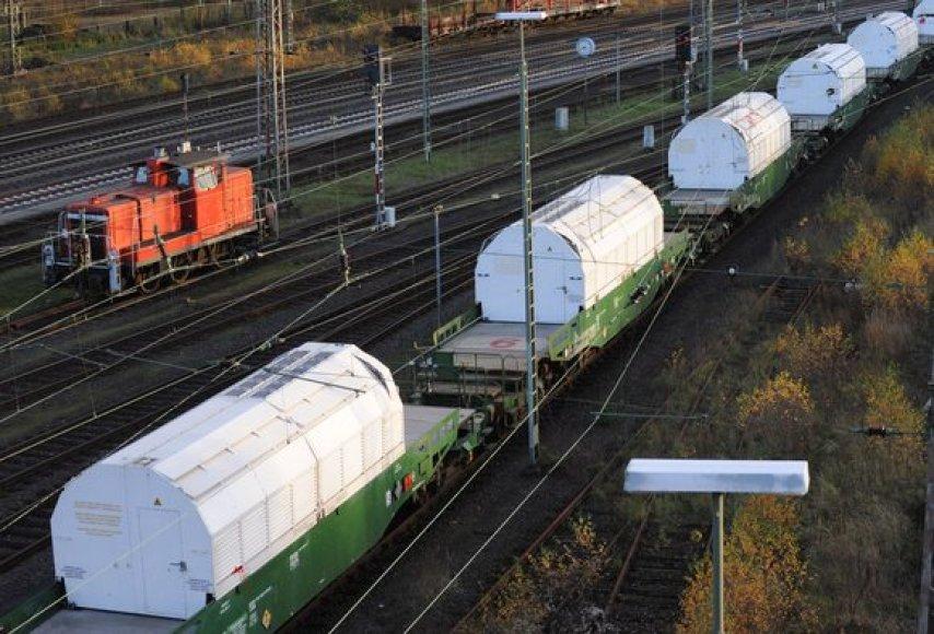 Traukinio vagonai