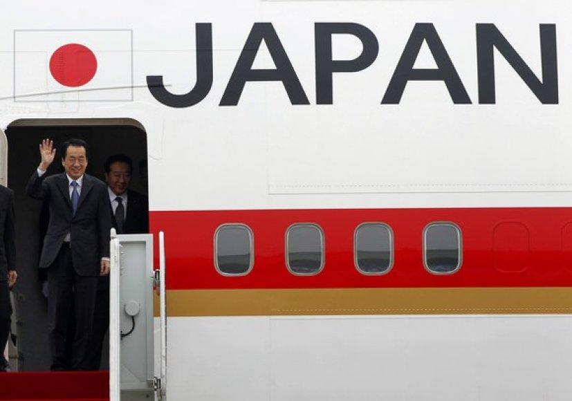 Joponijos ministras pirmininkas Naoto Kanas