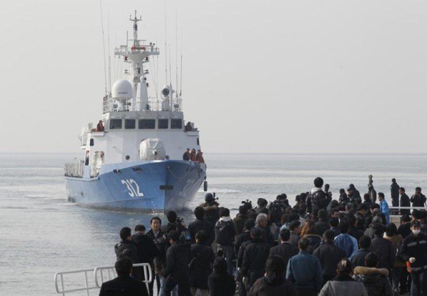 Iš salo evakuojami gyventojai