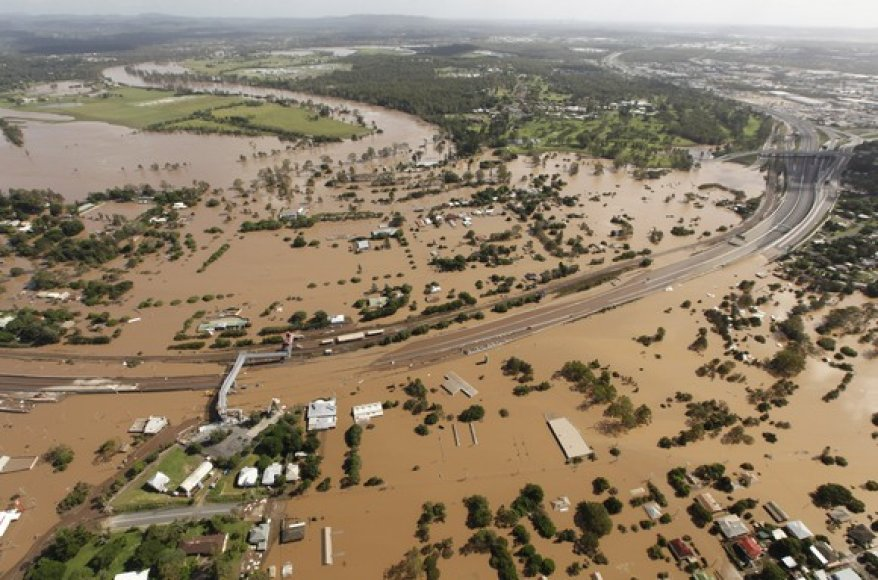 Potvynis Brisbane