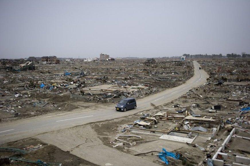 Cunamio nuniokotas Natori miestas