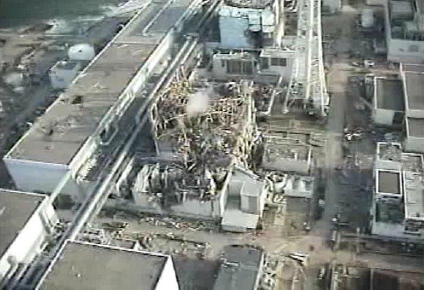 Fukušimos-1 atominės elektrinės trečiojo reaktoriaus blokas