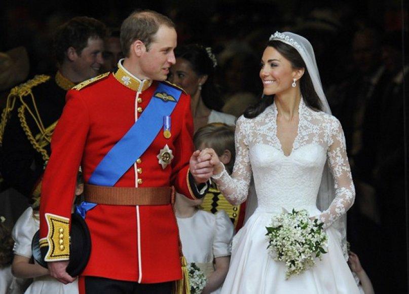Princas Williamas ir Kate Middleton