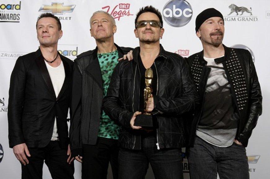 U2 grupės nariai