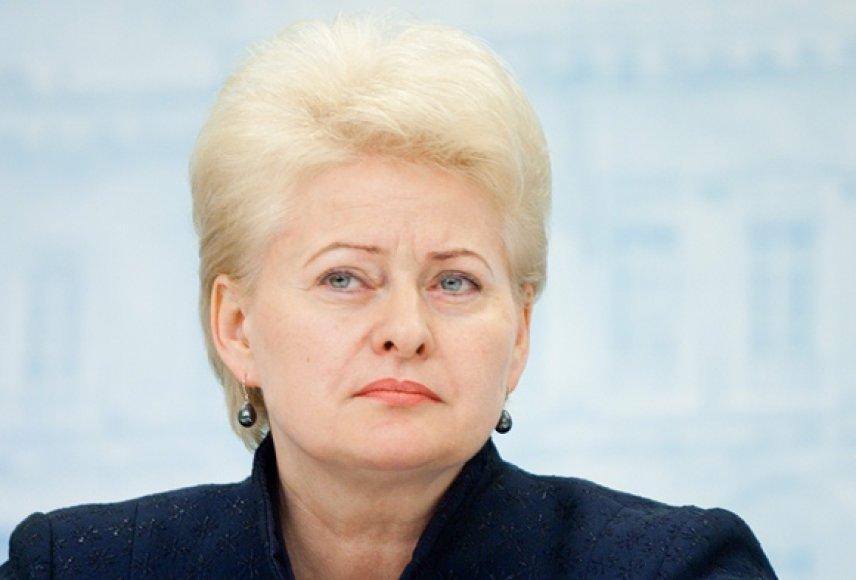 Lietuvos prezidentė Dalia Grybauskaitė