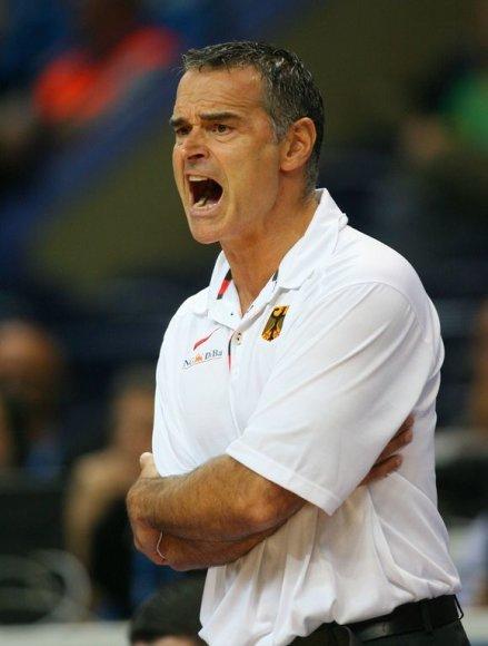 Vokietijos vyrų krepšinio rinktinės treneris Dirkas Bauermannas