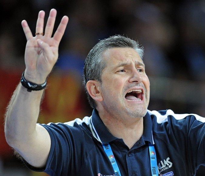 Graikijos krepšinio rinktinės treneris Ilias Zourosas