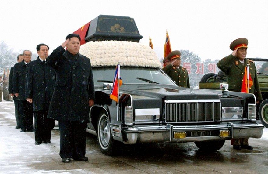 Kim Jong Ilo laidotuvių ceremonija