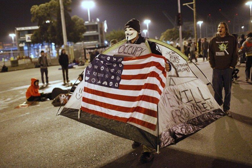 Protestuotojas
