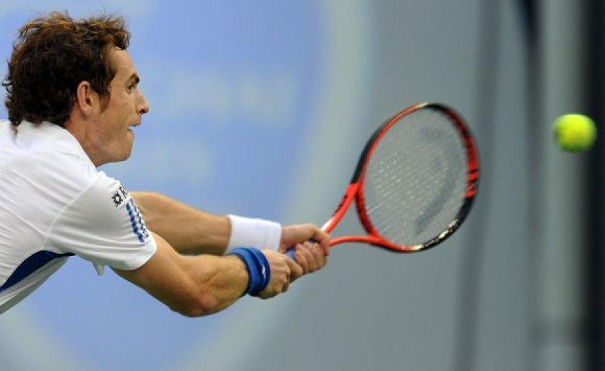 A.Murray'ui Ispanijoje sėkmingai susiklostė tik dvejetų varžybos