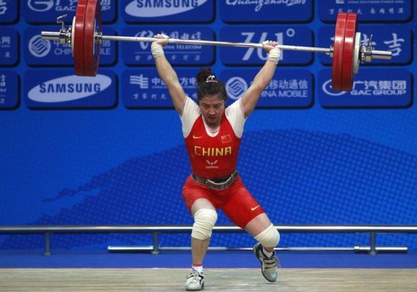 L.Ping Azijos žaidynėse pasiekė net du pasaulio rekordus