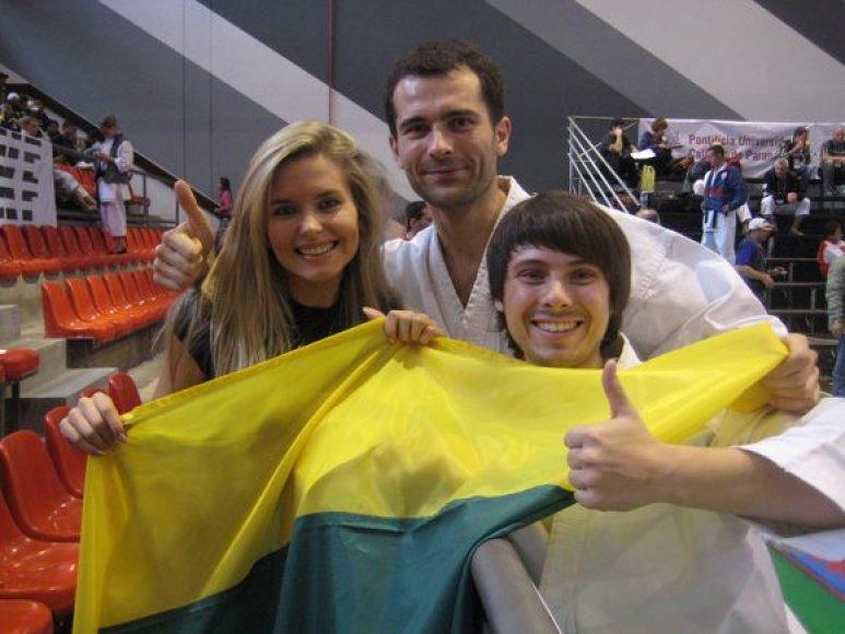 Lietuviai liko patenkinti savo pasirodymu pasaulio čempionate