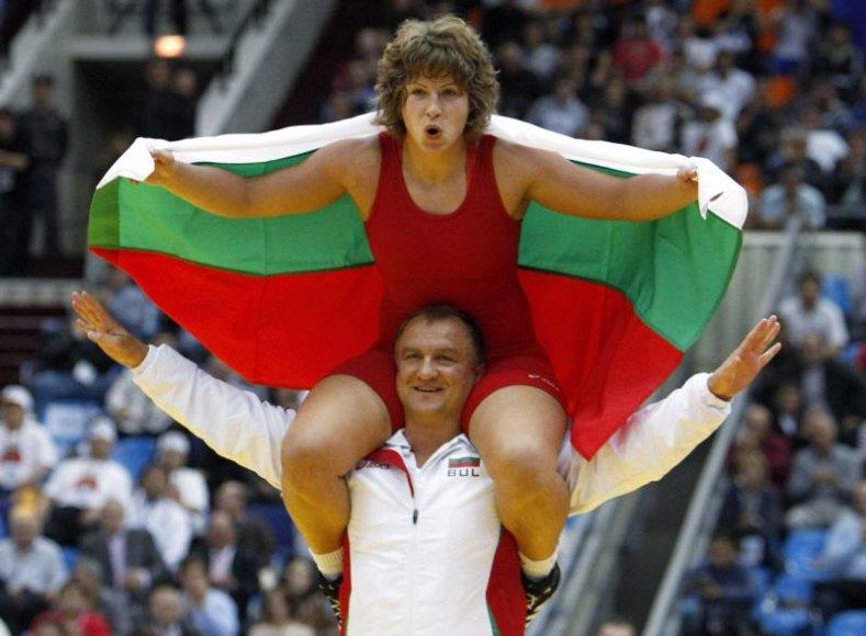 S. Zlateva šiemet tapo pasaulio bei Europos imtynių čempione