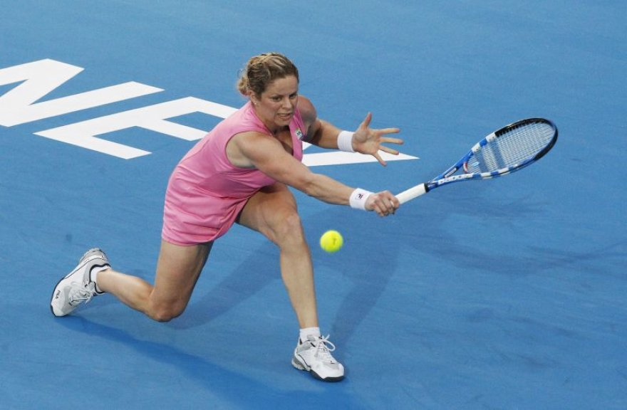 K.Clijsters tęsia kovą Sidnėjuje