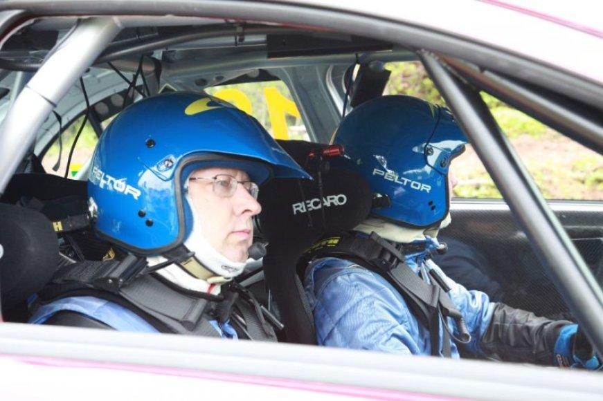Renatas Vaitkevičius ralyje nuo 2002-ųjų.