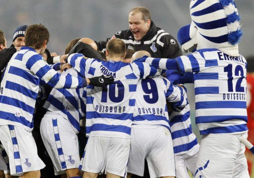 """""""Duisburg"""" ekipa keliauja į finalą"""