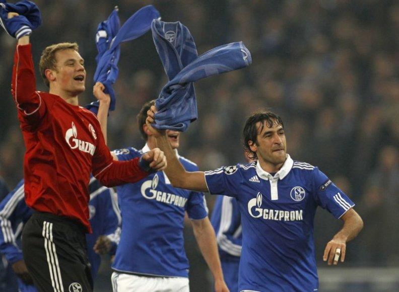 Vokietijos futbolininkai pateko į kitą etapą.