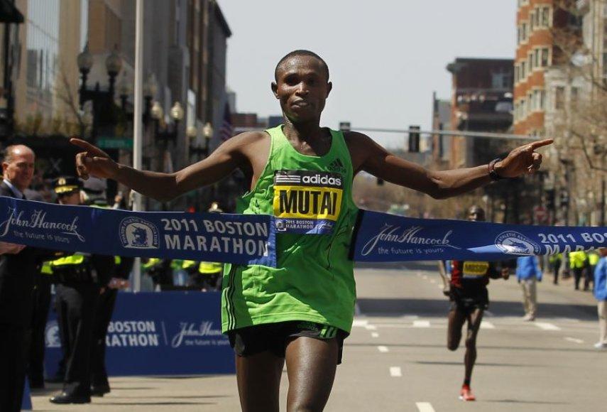 G.Mutai pasiekė neoficialų pasaulio rekordą