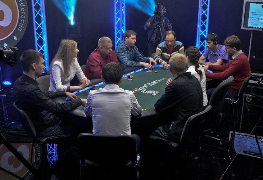 """Lietuvos sportinio pokerio federacijos turnyras """"Vieneri metai po…"""""""