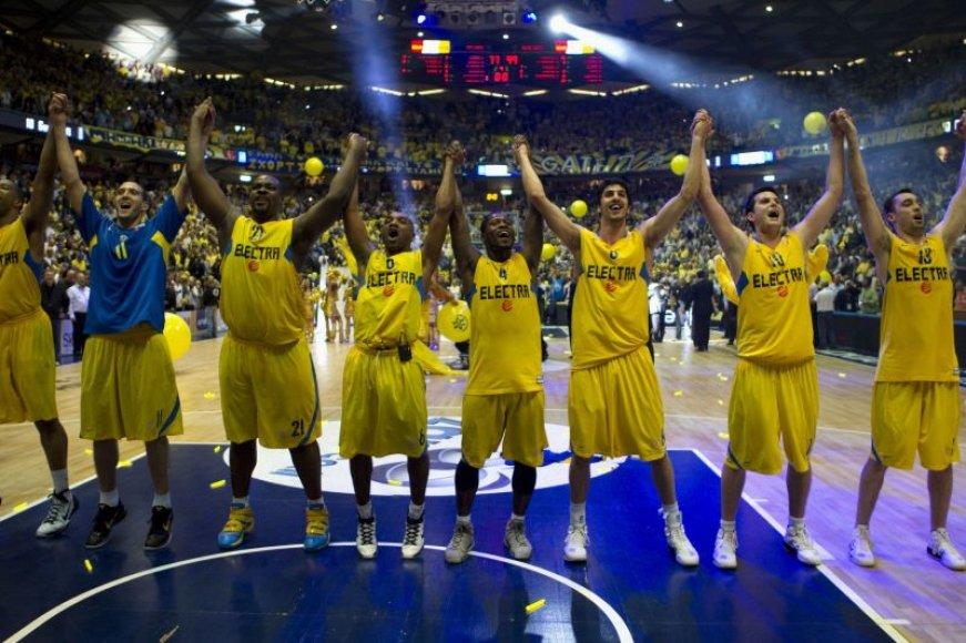 Tel Avivo ekipa pasiekė finalą.