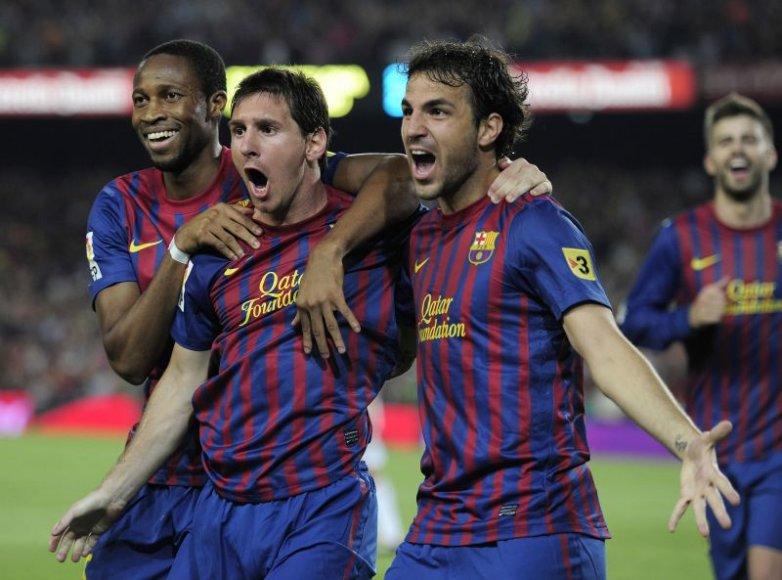 Cescas Fabregasas, Leonelis Messi, Seydou Keita