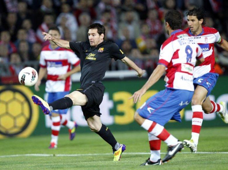 Barselonos futbolininkai pasiekė pergalę