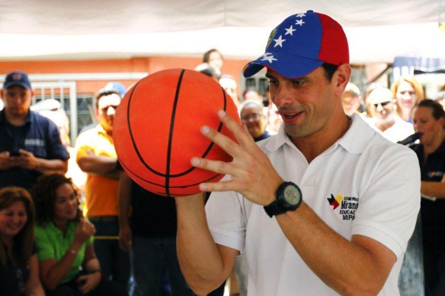 Venesuela yra viena iš predendenčių rengti olimpinę krepšinio atranką
