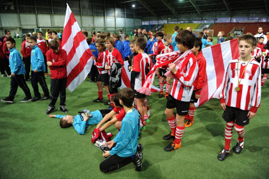 Tarptautinis vaikų futbolo turnyras S.Ramelio taurei laimėti Vilniuje.