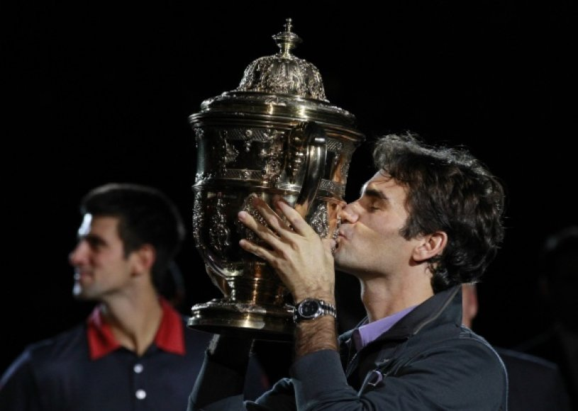 R.Federeris nugalėjo Bazelyje