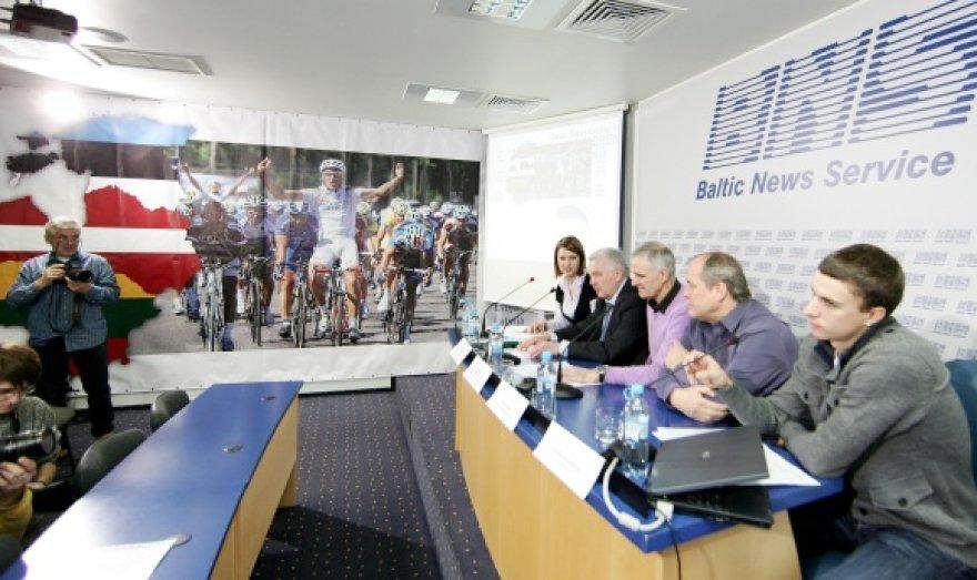 """""""Baltic chain tour"""" dviračių lenktynių organizatoriai tikisi sugrąžinti dviračių sportui buvusį populiarumą"""