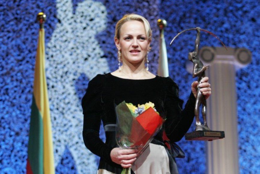 Simona Krupeckaitė – geriausia 2010 m. Lietuvos sportininkė.