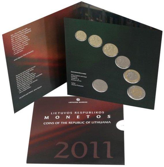 Apyvartinių monetų numizmatinis rinkinys