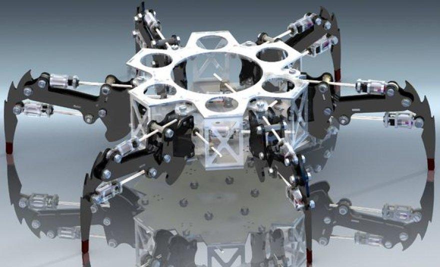 Šarūno Šutavičiaus šešiakojis robotas-voras