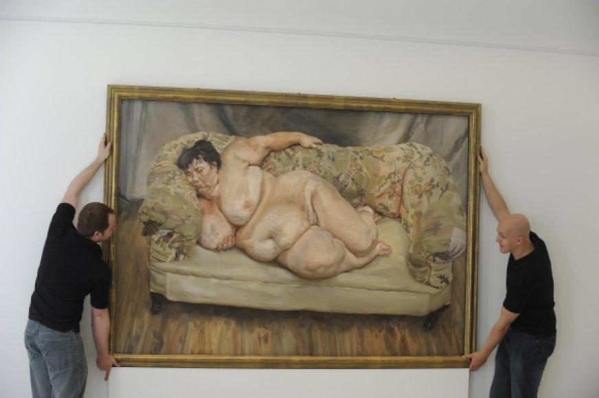 Luciano Freudo paveikslas buvo parduodas už daugiau nei 20 mln. svarų